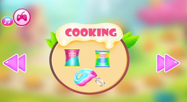 Chinese food and gingerbread cooking games screenshot 2