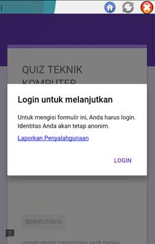 App QUIZ SC screenshot 2