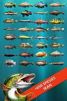 Let's Fish! Permainan Memancing, Simulator Mancing screenshot 12