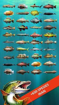 Let's Fish! Permainan Memancing, Simulator Mancing screenshot 2
