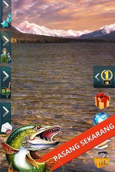 Let's Fish! Permainan Memancing, Simulator Mancing screenshot 9