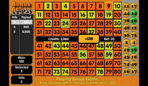 Keno - Tornado Games Style screenshot 6