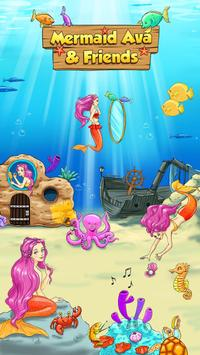 Mermaid Ava and Friends poster