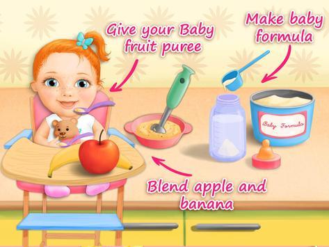 Sweet Baby Girl Newborn Baby screenshot 12