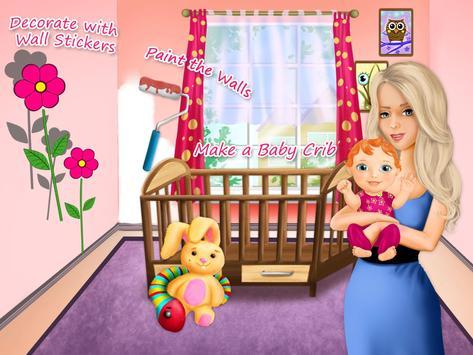 Sweet Baby Girl Newborn Baby screenshot 9