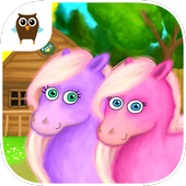 Pony Sisters in Magic Garden icon