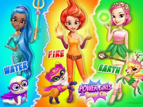 Power Girls Super City تصوير الشاشة 18