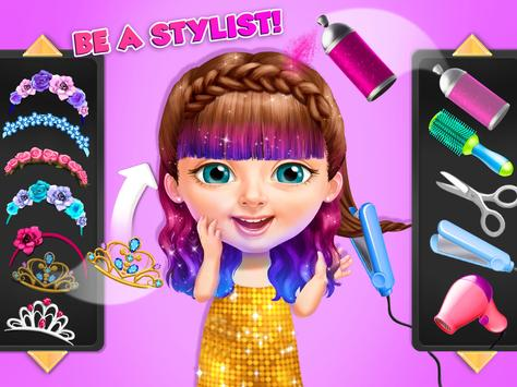 Sweet Baby Girl Summer Fun 2 - Sunny Makeover Game imagem de tela 11