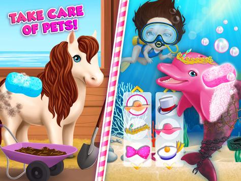 Sweet Baby Girl Summer Fun 2 - Sunny Makeover Game imagem de tela 22