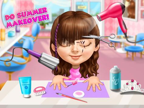 Sweet Baby Girl Summer Fun 2 - Sunny Makeover Game imagem de tela 23