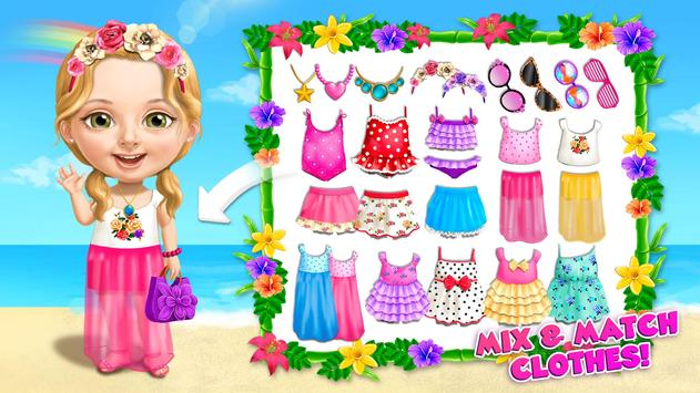 Sweet Baby Girl Summer Fun 2 - Sunny Makeover Game imagem de tela 2