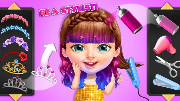 Sweet Baby Girl Summer Fun 2 - Sunny Makeover Game imagem de tela 3
