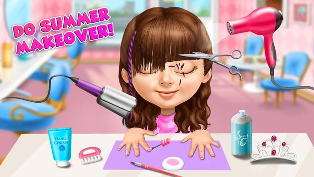 Sweet Baby Girl Summer Fun 2 - Sunny Makeover Game imagem de tela 4