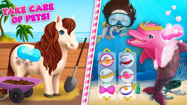 Sweet Baby Girl Summer Fun 2 - Sunny Makeover Game imagem de tela 7