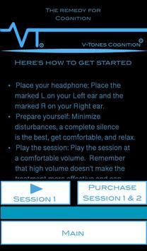 V-Tones Cognition screenshot 1
