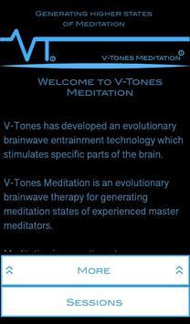 V-Tones Meditation poster