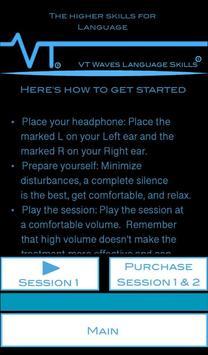 VT Brainwaves Language Skills screenshot 1