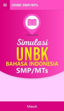 UNBK Bahasa Indonesia SMP poster