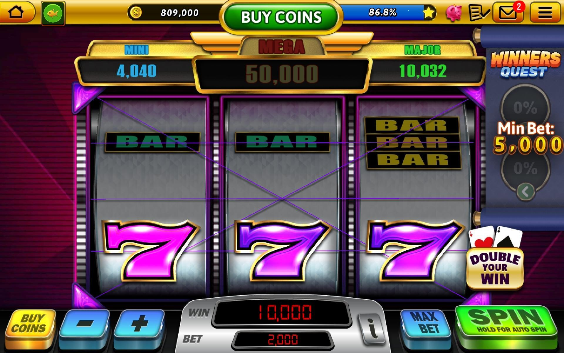 Win Vegas 777 Classic Slots Free Online Casino For Android