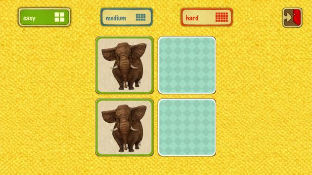 Animal Memory for kids screenshot 11
