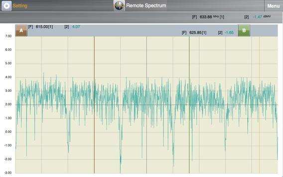 Remote Spectrum screenshot 1