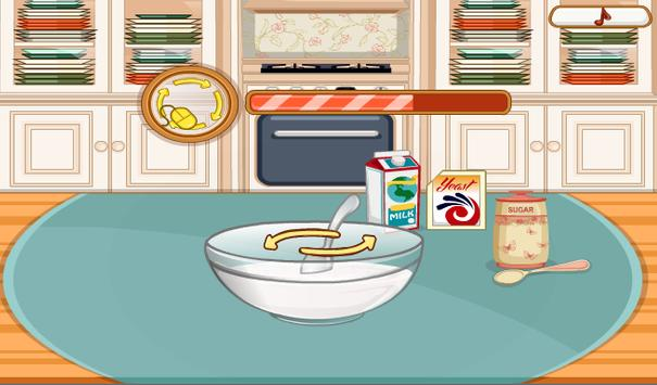 Cooking Frenzy - Homemade Donuts Game screenshot 1