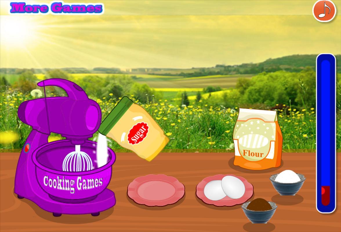 Jugos De Cocinar   Cocinar Juego Para Ninas Juegos Cocinar Pastel For Android Apk