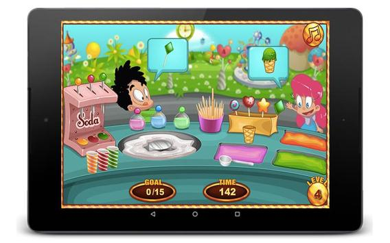 Cotton Candy Games - Cooking Games screenshot 4