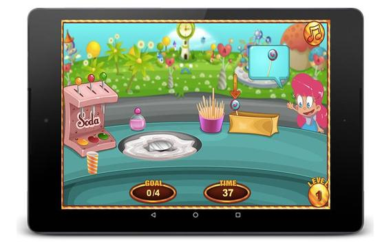 Cotton Candy Games - Cooking Games poster