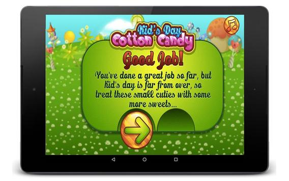 Cotton Candy Games - Cooking Games screenshot 1