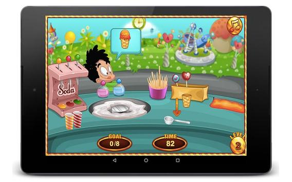 Cotton Candy Games - Cooking Games screenshot 2