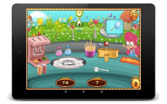 Cotton Candy Games - Cooking Games screenshot 3