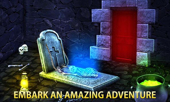 Halloween Escape Mystery Room - The Dark Fence screenshot 5
