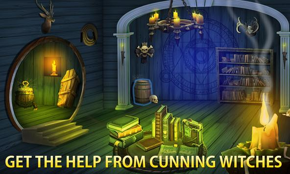 Halloween Escape Mystery Room - The Dark Fence screenshot 8