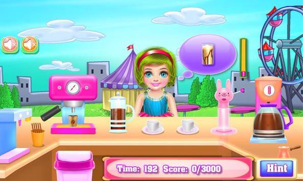 Cooking Cake - Coffee Maker Street Truck screenshot 14