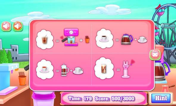 Cooking Cake - Coffee Maker Street Truck screenshot 1