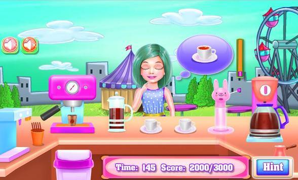 Cooking Cake - Coffee Maker Street Truck screenshot 2