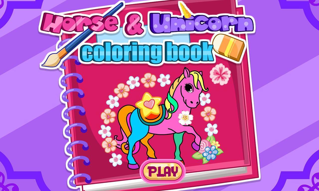 Livre De Coloriage De Licorne Pour Android Telechargez L Apk