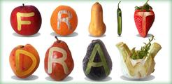 Fruit Draw: Sculpt & Peel Veggies Art