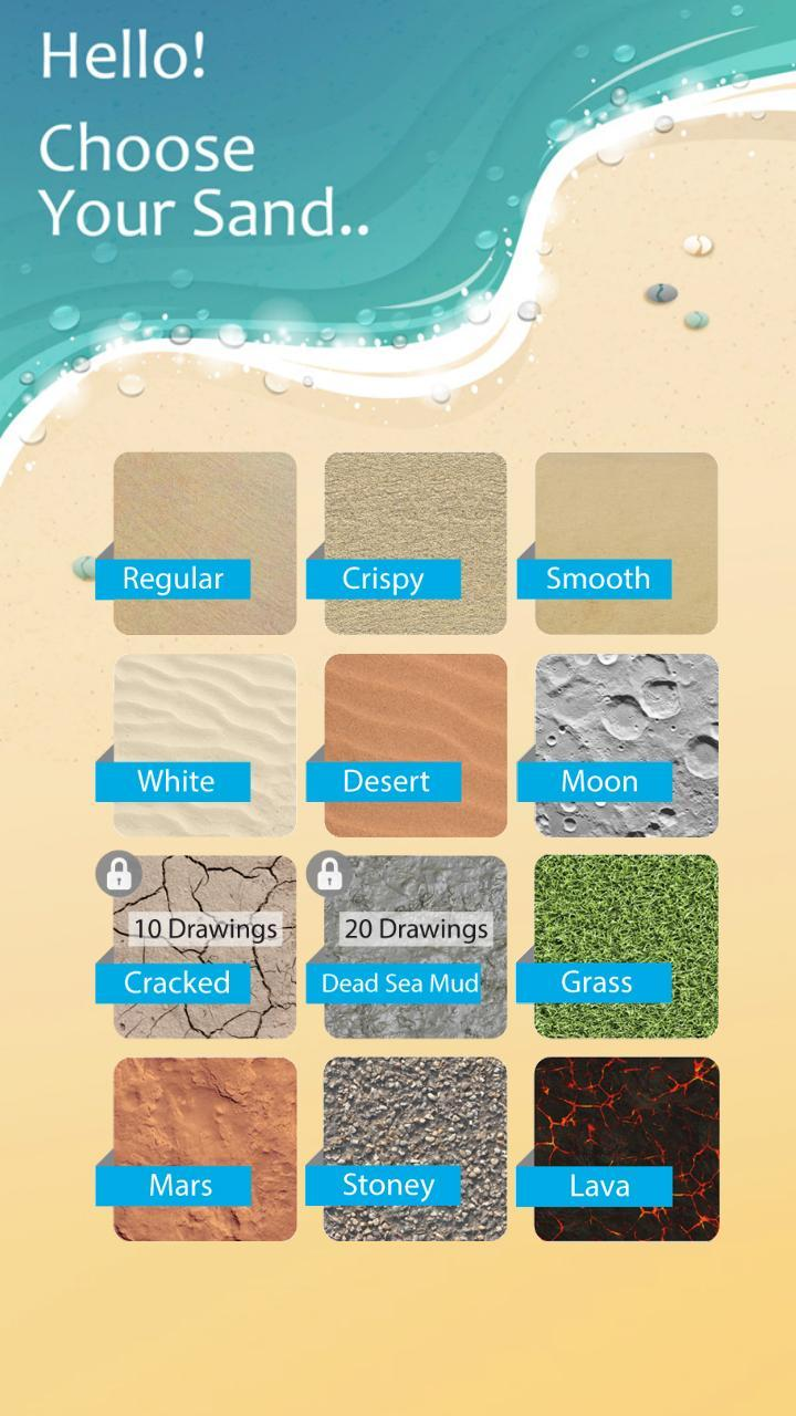 Sand Draw Sketch Drawing Pad: Creative Doodle Art poster