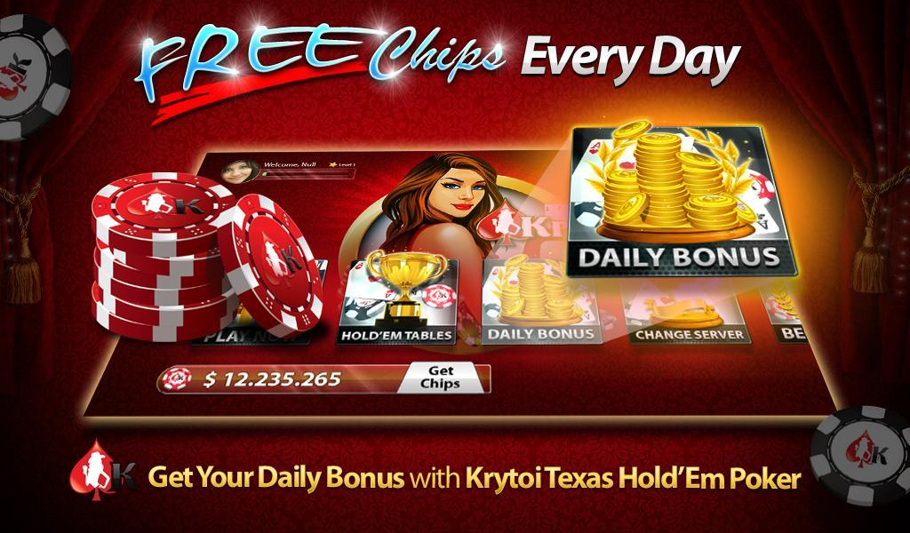 Krytoi Texas Holdem Poker For Android Apk Download