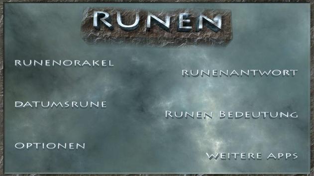 Runen Steine poster