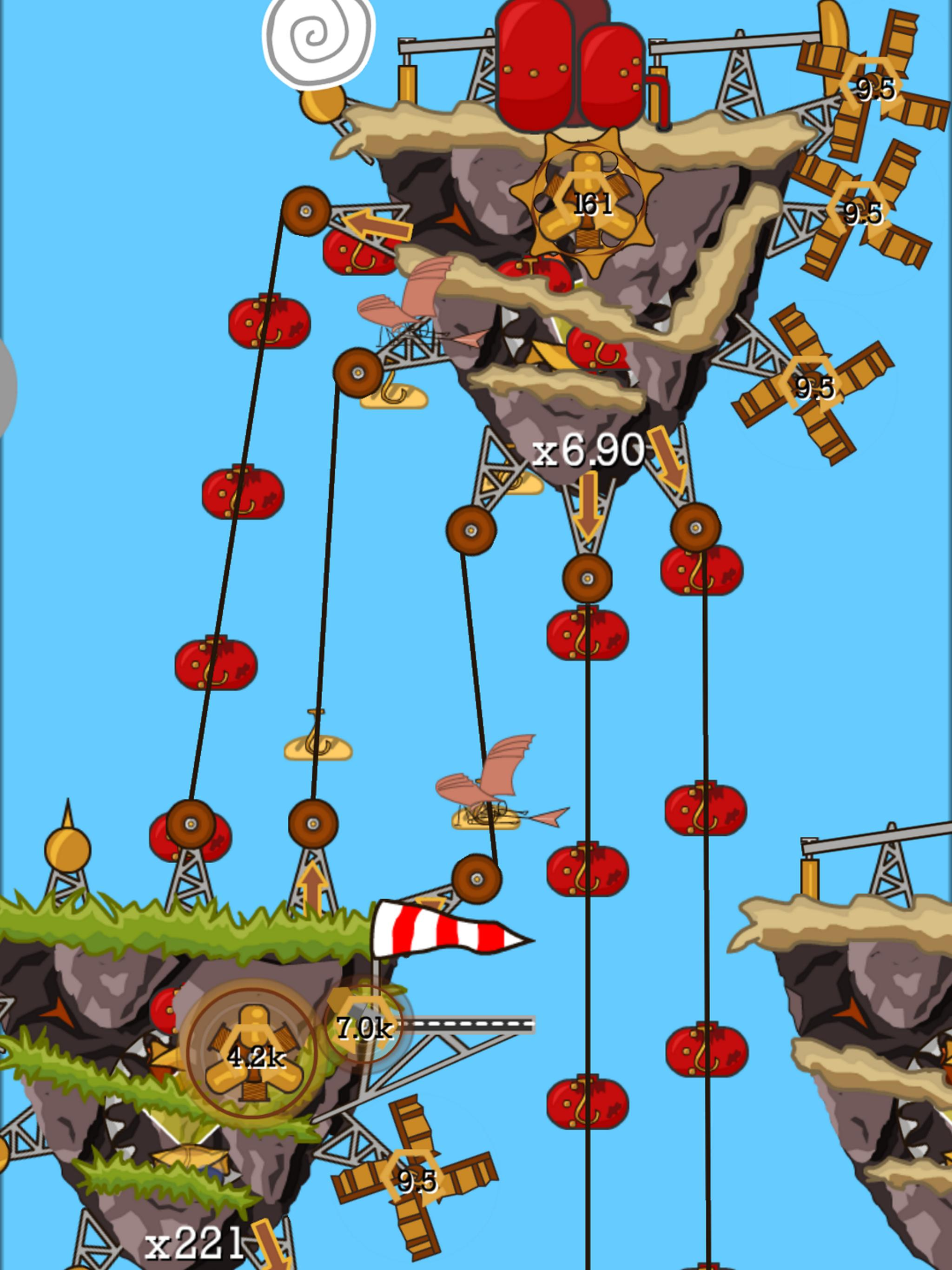 Steampunk Idle Spinner: cogwheels and machines for Android