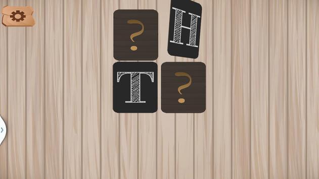Alphabet Memory Cards ABC screenshot 1