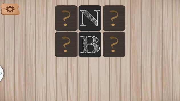 Alphabet Memory Cards ABC screenshot 2