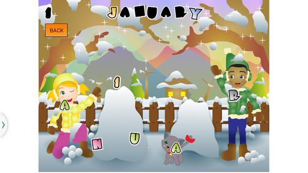Learn Seasons And Months screenshot 18