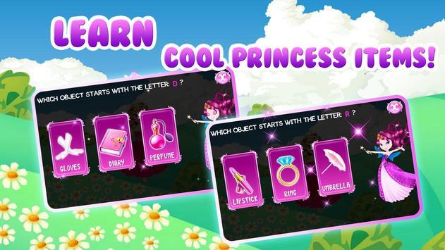 Preschool Learning: Princess screenshot 12