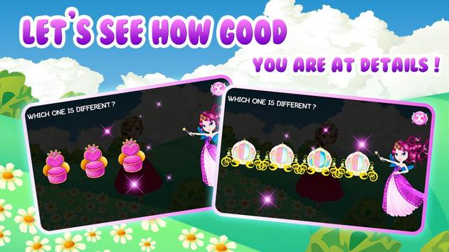 Preschool Learning: Princess screenshot 1