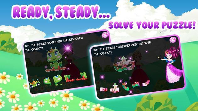 Preschool Learning: Princess screenshot 2