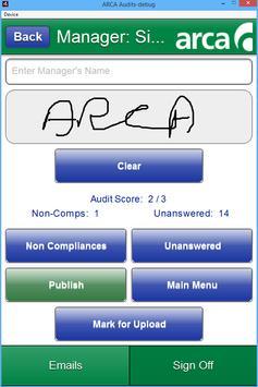 ARCA Audits screenshot 1